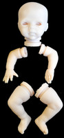 Nessa Reborn Vinyl Mini Doll Kit by Marita Winters