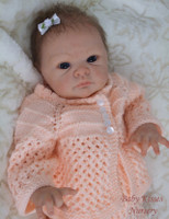 Jill Reborn Vinyl Doll Head by Adrie Stoete Mix & Match