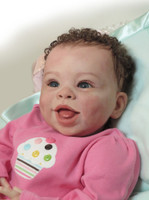 Jordyn Smiling Reborn Vinyl Doll Kit by Laura Tuzio Ross