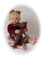 Heidi Reborn Vinyl Doll Kit by Adrie Stoete