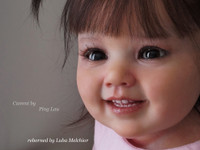 Cammi Reborn Vinyl Toddler Doll Kit by Ping Lau