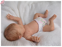 Aspen Reborn Vinyl Doll Kit by Jannie De Lange