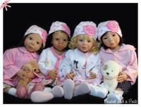 Amani Reborn Vinyl Doll Kit by Danielle Zweers