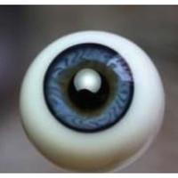 German Glass Eyes: Full Round Blue #58