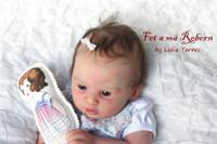 Finley Reborn Vinyl Doll Kit by Heike Kolpin