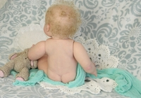 Violet Reborn Vinyl Doll Kit by Tomas Dyprat