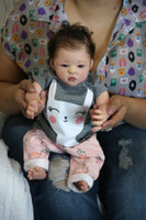 Santina Reborn Vinyl Doll Kit by Ping Lau