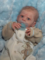Josiah Reborn Vinyl Doll Kit by Laura Tuzio Ross