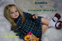 Samira Reborn Vinyl Toddler Doll Kit by Conny Burke