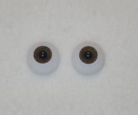Acrylic Real Eyes in Dark Brown