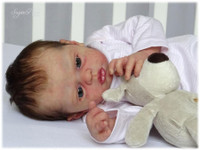 Lola Reborn Vinyl Doll Kit by Philomena Donnelly