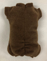 "Doe Suede Body for 13-14"" Dolls Full Unjointed Arms Full Unjointed Legs #498E"