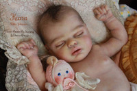 Kiara Vinyl Reborn Doll Kit by Nikki Johnston
