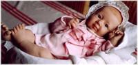 Yanusha Reborn Vinyl Doll Kit by Linde Scherer