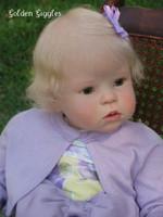 Kathy Reborn Doll Kit With Bent Legs by Regina Swialkowski