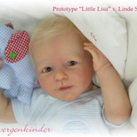 Little Lisa Vinyl Reborn Doll Kit by Linde Scherer