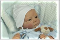 Finn Vinyl Reborn Doll Kit by Linde Scherer