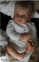 Lisa Vinyl Reborn Doll Kit by Linde Scherer