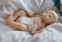 Lilly Loo Mini Reborn Vinyl Doll Kit by Marita Winters