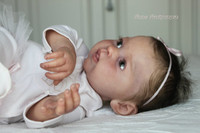 Olive Reborn Vinyl Doll Kit by Ping Lau