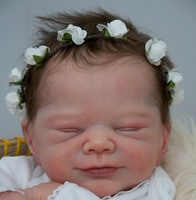 Joy Reborn Vinyl Doll Head by Adrie Stoete  Mix & Match - HEAD ONLY