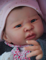 Louise Reborn Vinyl Doll Head by Adrie Stoete  Mix & Match - HEAD ONLY