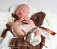 Lil Cry Reborn Vinyl Doll Kit by Philomena Donnelly