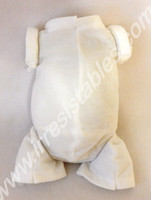 """Doe Suede Body for 20-21"""" Dolls Full Jointed Arms 3/4 Jointed Legs #1640GW"""