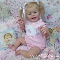 Luv Buggie Reborn Vinyl Doll Kit by Laura Tuzio Ross