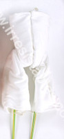 """German Doe Suede Lower Body with leg armatures for 35"""" Dolls Attaches at waist 832GW"""