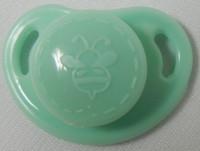"HoneyBug CutiePie Micro Preemie Pacifier For 10-13"" Dolls-Minty"