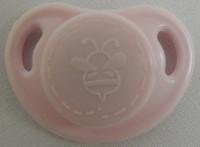 "HoneyBug CutiePie Micro Preemie Pacifier For 10-13"" Dolls-Marshmallow Pink"