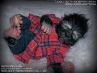 Lucian The Hybrid Reborn Vinyl Doll by Simon Laurens