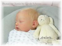 Jamie Reborn Vinyl Doll Kit by Linde Scherer