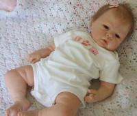 Angelina Reborn Vinyl Doll Kit by Sandy Faber