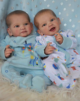 Alouette and Deryn Reborn Vinyl Doll Kit by Mayra Garza