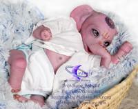 Babette Reborn Vinyl Doll Kit by  Melissa McCrory