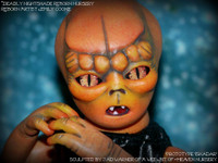 Iskadar Reborn Baby Alien Vinyl Doll Kit by Jade Warner Irresistables Exclusive!