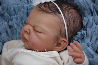 Imani Reborn Vinyl Doll Head by Adrie Stoete  - HEAD ONLY