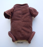 "Doe Suede Body for 19-21"" Dolls 3/4 Jointed Arms Full Jointed Legs #504E"