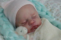 Ruby Reborn Vinyl Doll Kit by Cassie Brace