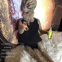 Zantisha Reborn Vinyl Doll Kit by Jade Warner