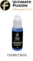 Ultimate Fusion All in One Air Dry Paint Cobalt Blue 12ml Bottle (.4 ounce)