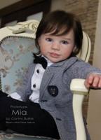 Mia Reborn Vinyl Toddler Doll Kit by Conny Burke