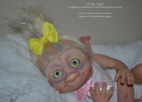 Puggles The Garden Gnome Reborn Vinyl Doll Kit by Jade Warner Irresistables Exclusive!