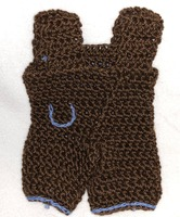 Crochet Premie Doll Outfit for 6 to 8 baby inch dolls 0218-303