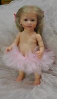 Madelaine Mini Toddler Reborn Vinyl Doll Kit by Marita Winters  11 inches