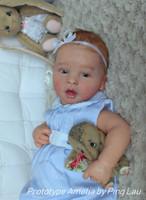 Amelia Reborn Vinyl Doll Kit by Ping Lau