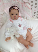 Asia Reborn Vinyl Doll Kit by Cassie Brace