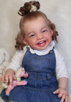 Mila Our Happy Reborn Vinyl Toddler Doll Kit by Ping Lau
